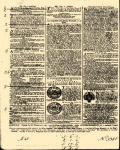 General Advertiser, January 23, 1745, Page 4