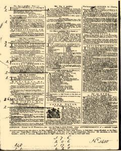 General Advertiser, January 28, 1745, Page 4