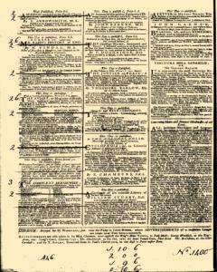 General Advertiser, January 30, 1745, Page 4