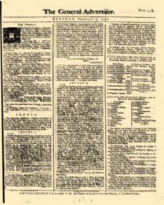 General Advertiser, February 04, 1745, Page 1