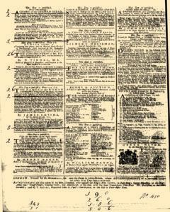 General Advertiser, February 04, 1745, Page 4