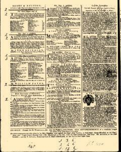 General Advertiser, February 05, 1745, Page 4