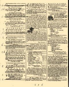 General Advertiser, February 13, 1745, Page 2