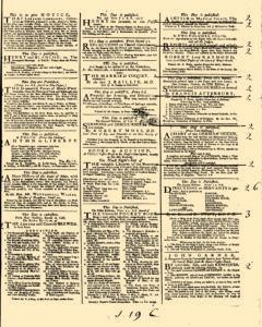 General Advertiser, February 13, 1745, Page 3