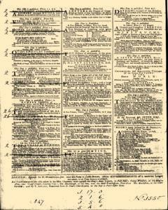 General Advertiser, February 24, 1745, Page 4