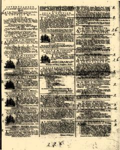 General Advertiser, February 26, 1745, Page 3