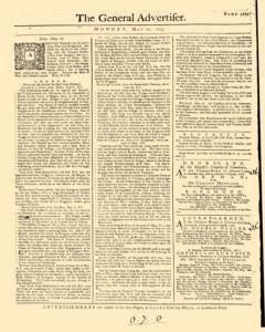 General Advertiser, May 20, 1745, Page 1