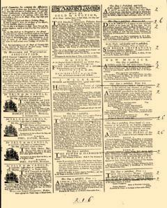 General Advertiser, November 15, 1745, Page 3