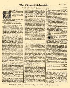 General Advertiser, January 28, 1746, Page 1