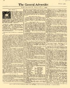 General Advertiser, February 05, 1746, Page 1