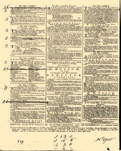 General Advertiser, March 04, 1746, p. 4