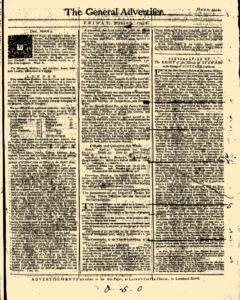 General Advertiser, March 07, 1746, Page 1