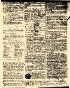 General Advertiser, March 10, 1746, Page 8