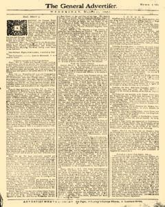 General Advertiser, March 11, 1746, p. 5