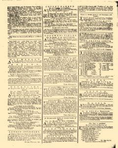 General Advertiser, March 14, 1746, p. 6