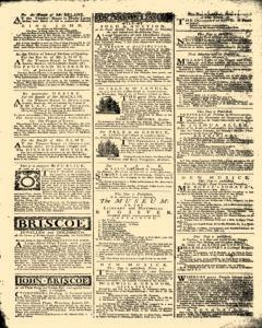 General Advertiser, March 14, 1746, p. 7