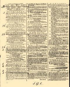 General Advertiser, March 14, 1746, p. 2