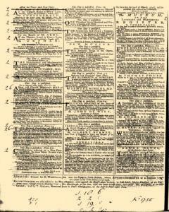 General Advertiser, March 18, 1746, Page 4