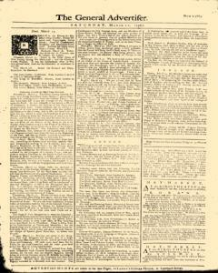 General Advertiser, March 21, 1746, Page 5