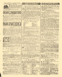 General Advertiser, March 21, 1746, Page 7