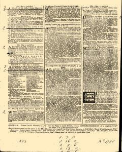 General Advertiser, March 21, 1746, Page 4