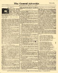General Advertiser, March 23, 1746, Page 1