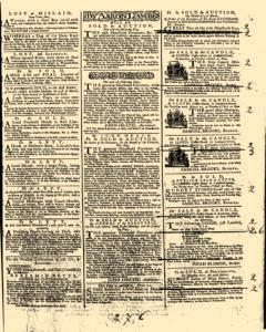 General Advertiser, March 25, 1746, p. 3