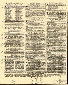 General Advertiser, March 25, 1746, Page 4