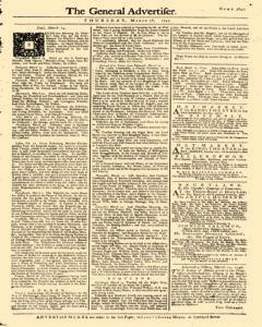 General Advertiser, March 26, 1746, Page 5