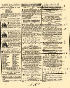 General Advertiser, March 26, 1746, Page 3