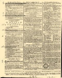 General Advertiser, March 28, 1746, p. 4
