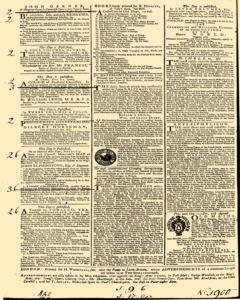 General Advertiser, May 12, 1746, Page 4