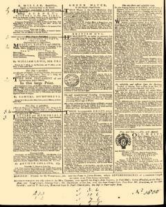 General Advertiser, May 20, 1746, Page 4