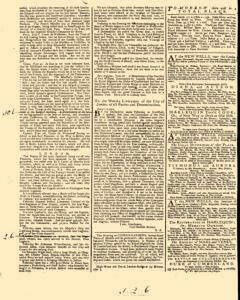 General Advertiser, July 09, 1746, p. 2