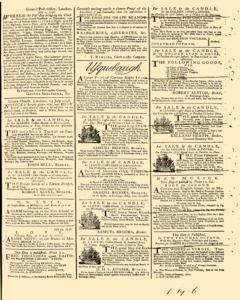 General Advertiser, July 25, 1746, Page 3