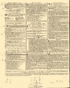 General Advertiser, July 25, 1746, Page 4