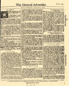 General Advertiser newspaper archives