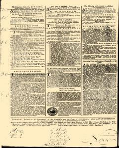 General Advertiser, August 30, 1746, Page 4