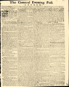 General Evening Post, February 12, 1771, Page 1