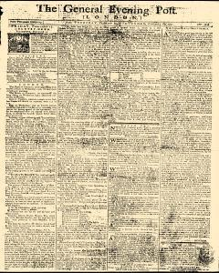 General Evening Post, February 14, 1771, Page 1