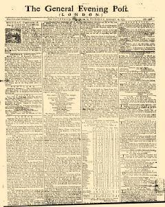 General Evening Post, February 16, 1771, Page 1