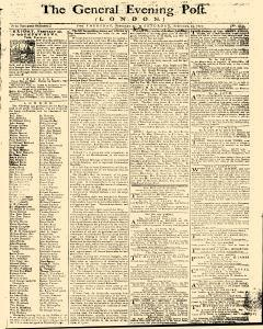 General Evening Post, February 21, 1771, Page 1