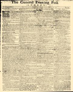 General Evening Post, February 26, 1771, Page 1