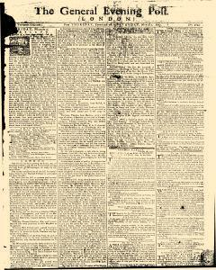 General Evening Post, February 28, 1771, Page 1