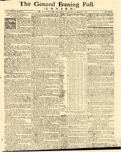 General Evening Post, March 02, 1771, Page 1