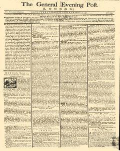 General Evening Post, March 09, 1771, Page 1