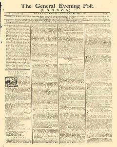 General Evening Post, April 04, 1771, Page 1