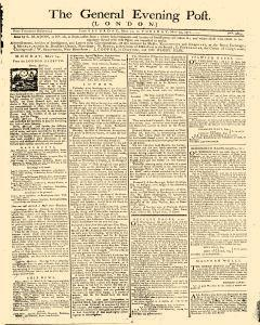 General Evening Post, May 11, 1771, Page 1