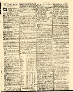 General Evening Post, May 11, 1771, Page 3