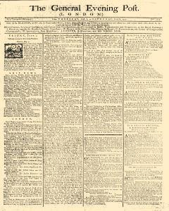General Evening Post, June 06, 1771, Page 1